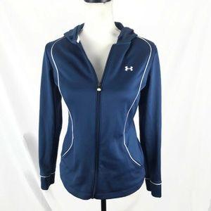 Under Armour Hooded Sweatshirt XS Blue